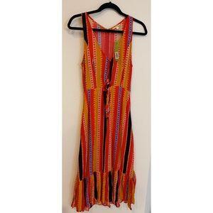 Gianni Bini Stella Cutout Midi Dress XS